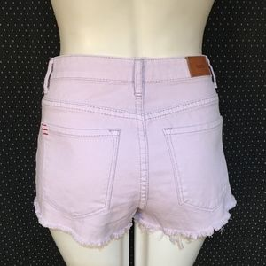 BDG Urban Outfitters Lilac Cheeky Festival Shorts